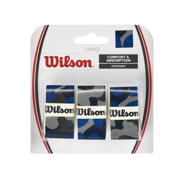 Wilson Camo Overgrip blau