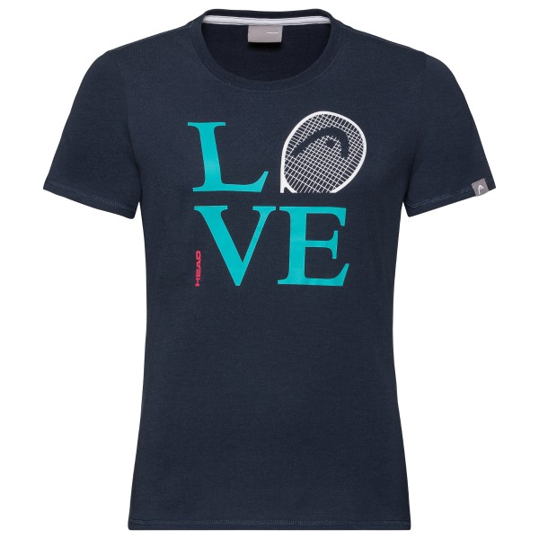 Head Love T-Shirt Damen blau