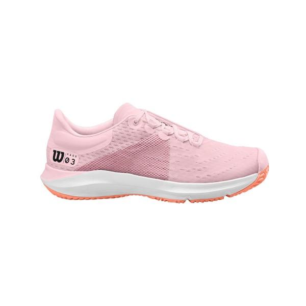 Wilson Kaos 3.0 Junior pink Tennisschuhe