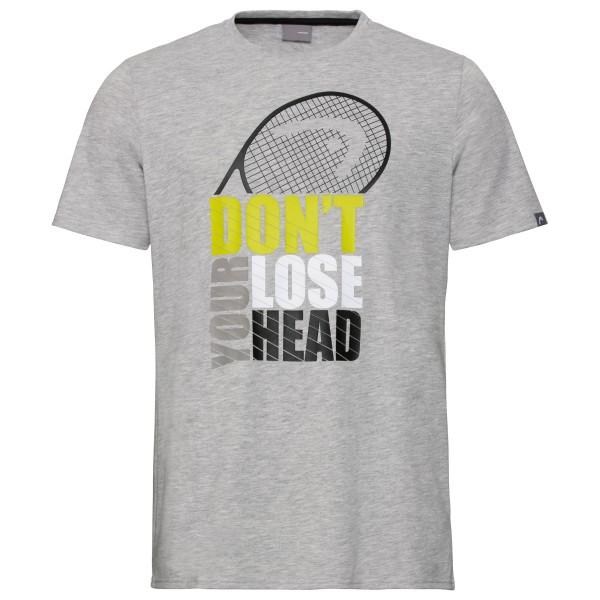 Head Return T-Shirt Herren grau