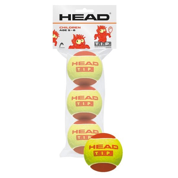 Head TIP 3er Rot Tennisball