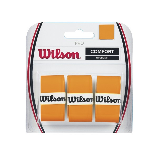 Wilson Pro Overgrip orange 3er
