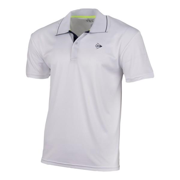 Dunlop Club Polo Shirt Herren weiß