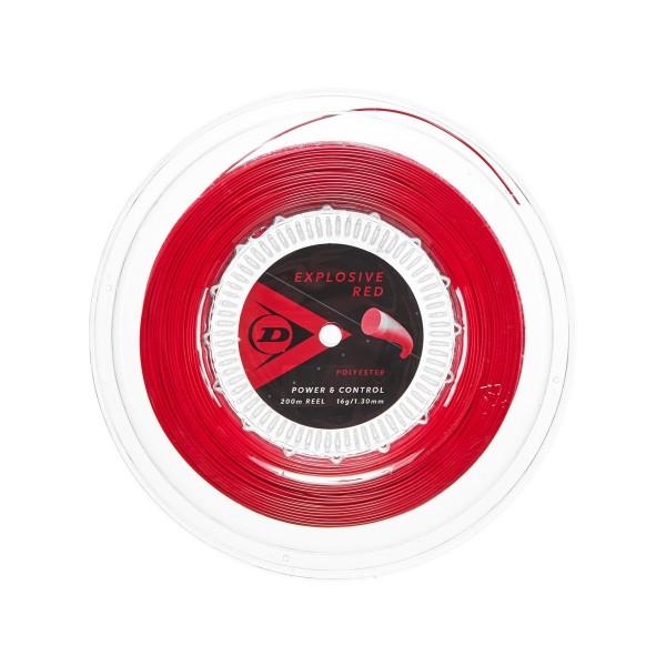 Dunlop Explosive Red 200m Tennissaite