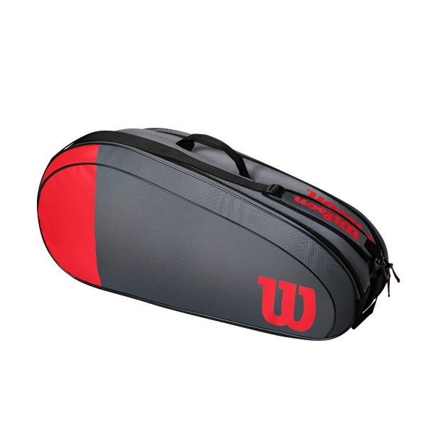 Wilson Team 6 Pack rot Tennistasche