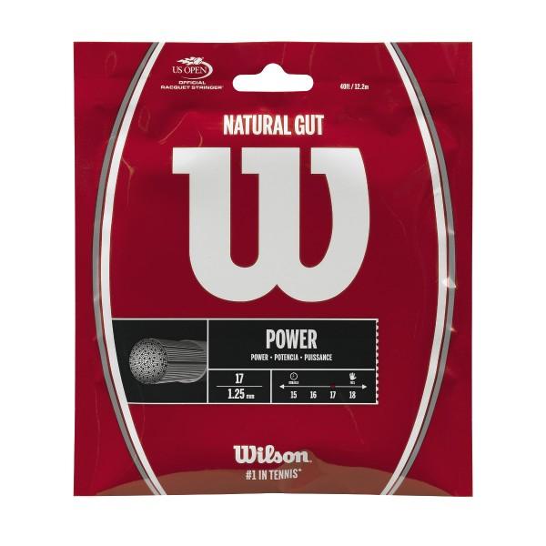 Wilson Natural Gut 17 Single Set