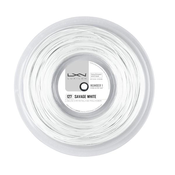Luxilon Savage White 200m Saitenrolle