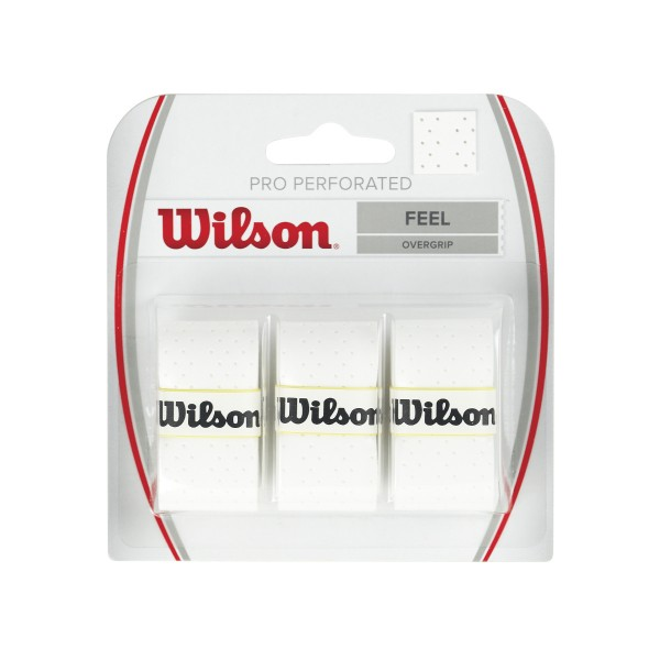 Wilson Pro Overgrip Perforated 3er