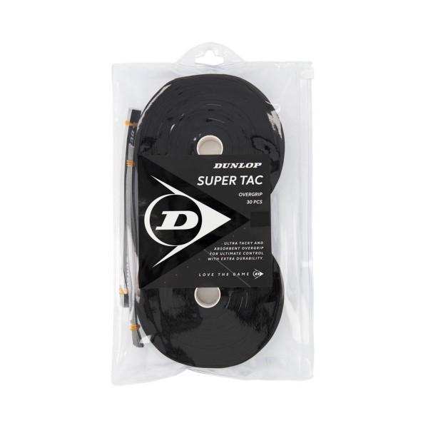 Dunlop Super Tac 30er Overgrips schwarz