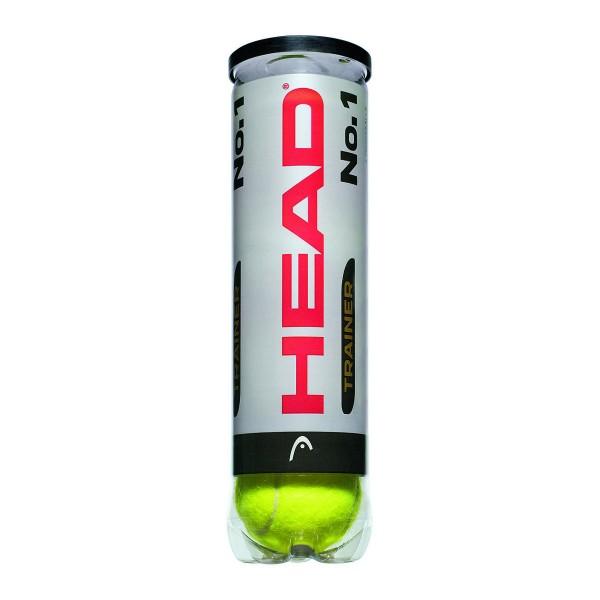 Head No. 1 Trainer 4er Dose Tennisball
