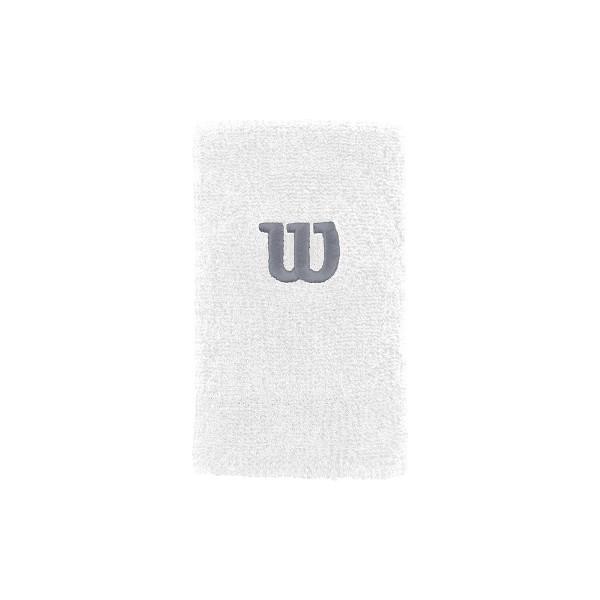 Wilson Extra Wide Schweißband weiß