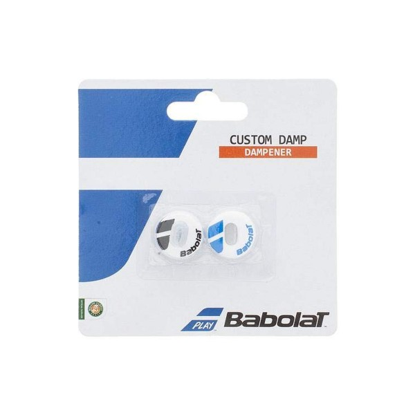 Babolat Custom Damp X2 blau/weiß Dämpfer