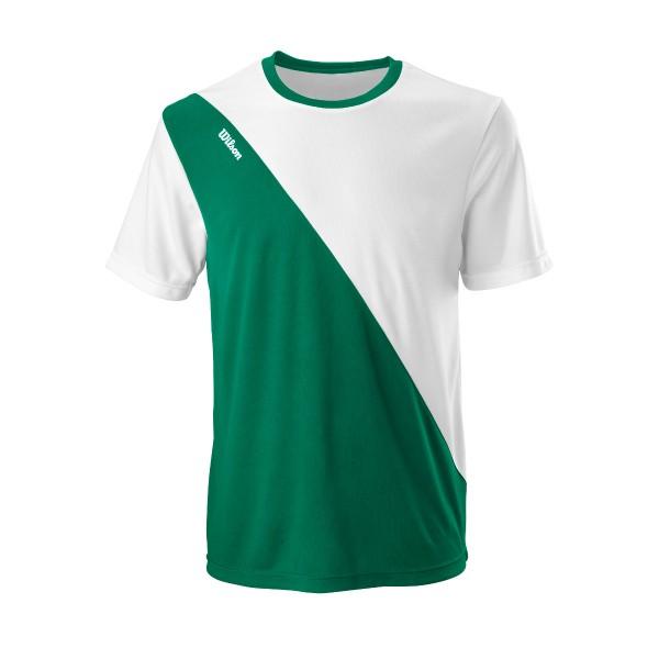 Wilson Team II Crew Herren Tennisshirt grün