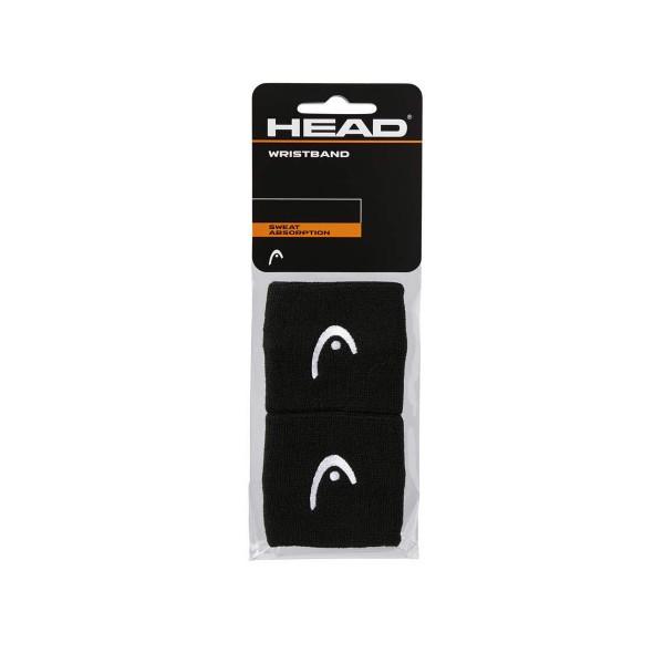 Head Wristband 2,5 schwarz Schweißband