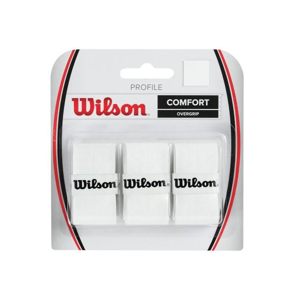 Wilson Profile Overgrip 3er weiß