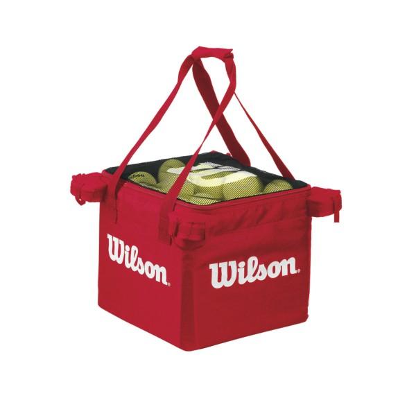 Wilson Ballwagentasche rot