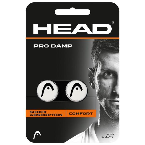 Head Pro Damp Dämpfer 2er weiß
