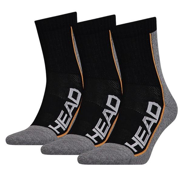 Head Performance Socken schwarz 3er