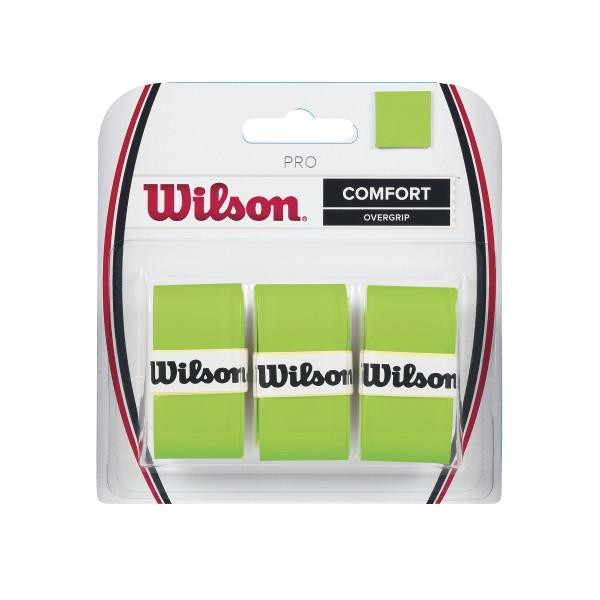 WilsoN Pro Overgrip green 3er