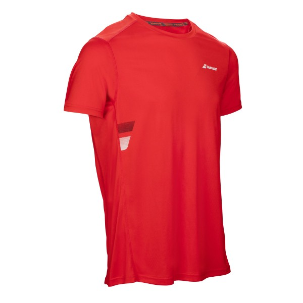 Babolat Flag Tee Shirt Boys rot