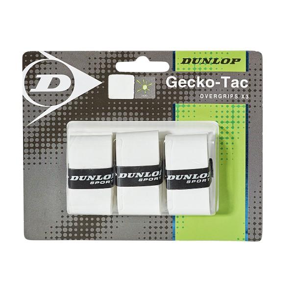 Dunlop Gecko-Tac Overgrip 3er Weiß