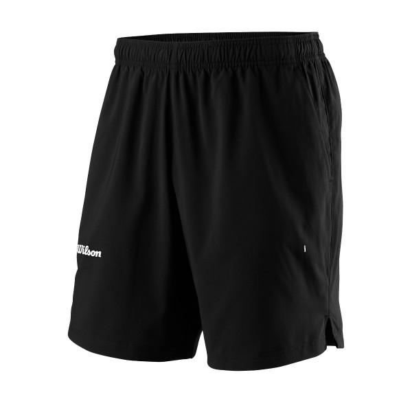 Wilson Team II 8 Short schwarz Tennishose