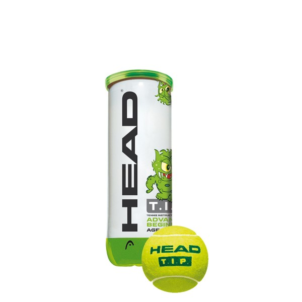 Head TIP 3er Grün Tennisball