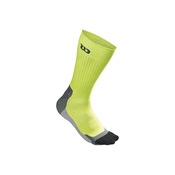 Wilson Herren High-End Crew Tennissocken Gr. 43-46 grün