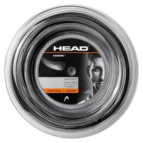 Head Hawk black Saitenrolle