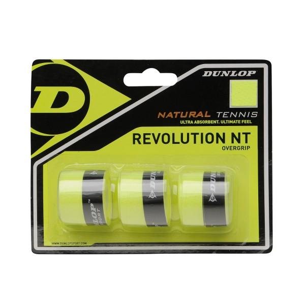 Dunlop Revoulution 3er Gelb Overgrip