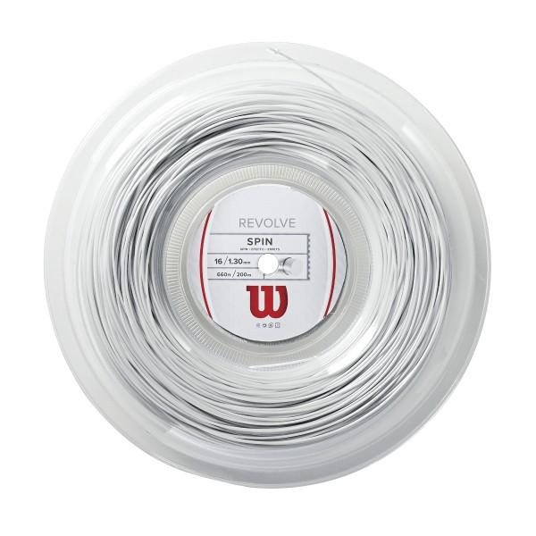 Wilson Revolve Weiß 200m Saitenrolle