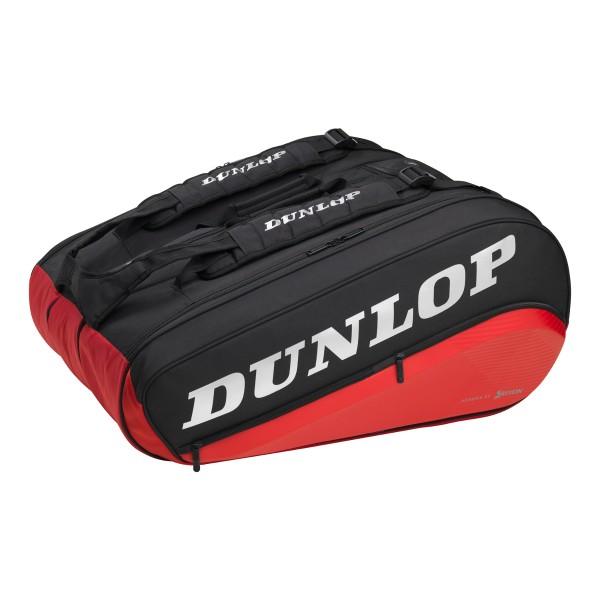 Tennistasche Dunlop CX Performance 12 Pack schwarz rot