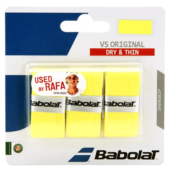 Babolat VS Grip 3er Overgrip Gelb