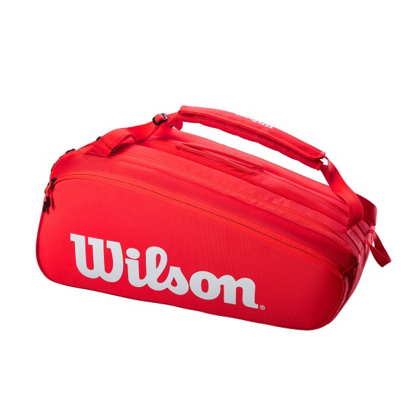 Wilson Super Tour 15 rot Tennistasche