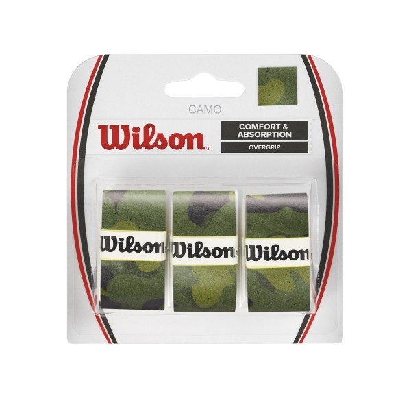Wilson Camo Overgrip 3er grün
