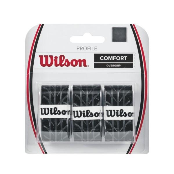 Wilson Profile Overgrip 3er schwarz