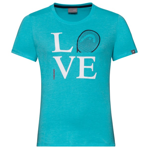 Head Love T-Shirt Damen türkis