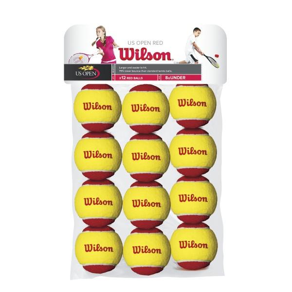 Wilson Starter Easy Red 12er Beutel Tennisbälle