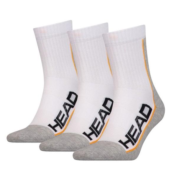 Head Performance Socken 3er weiß