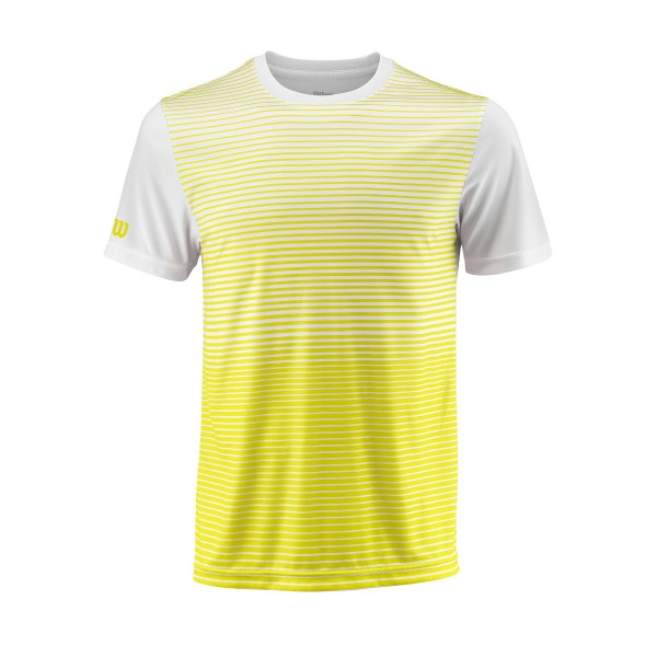 Wilson Team Striped Crew Shirt Boys gelb
