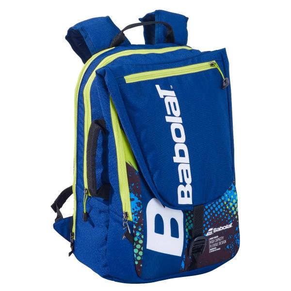 Babolat Tournament Bag blau lime Badmintonrucksack