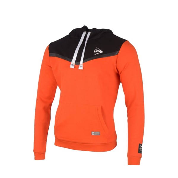 Dunlop Essential Hooded Sweater orange Kids