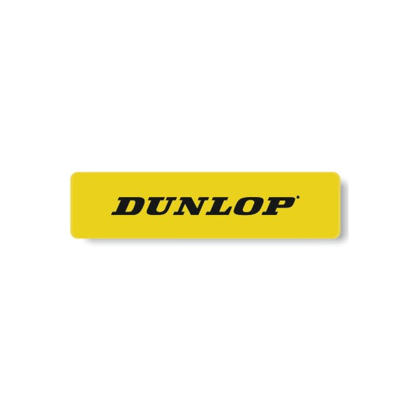 Dunlop Markierungslinien 12er Pack gelb