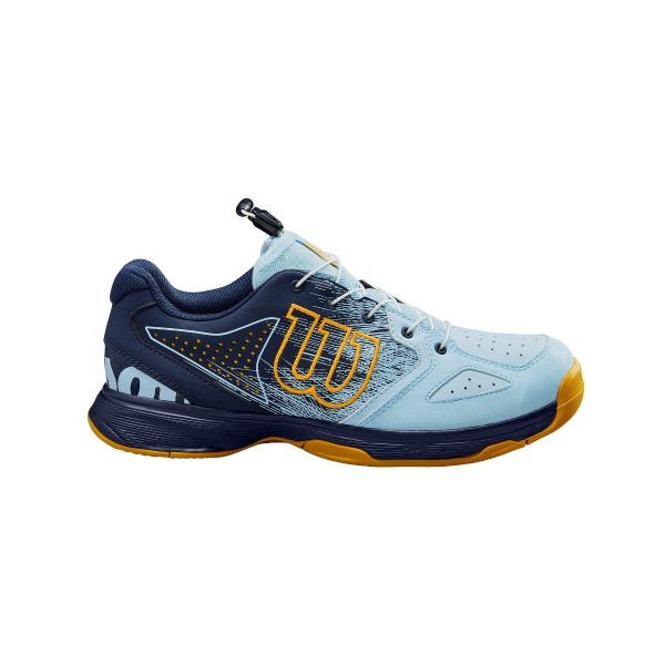 Wilson Kaos QL Junior blau Tennisschuhe