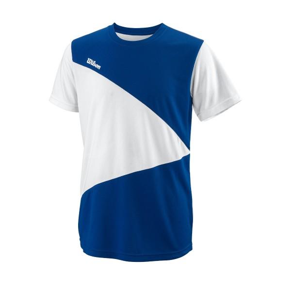 Wilson Team II Triangle Crew Boys Shirt blau