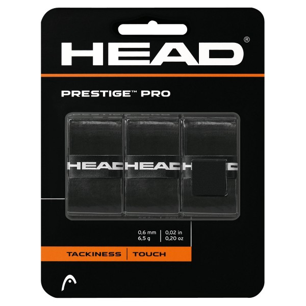 Head Prestige Pro Overgrip schwarz