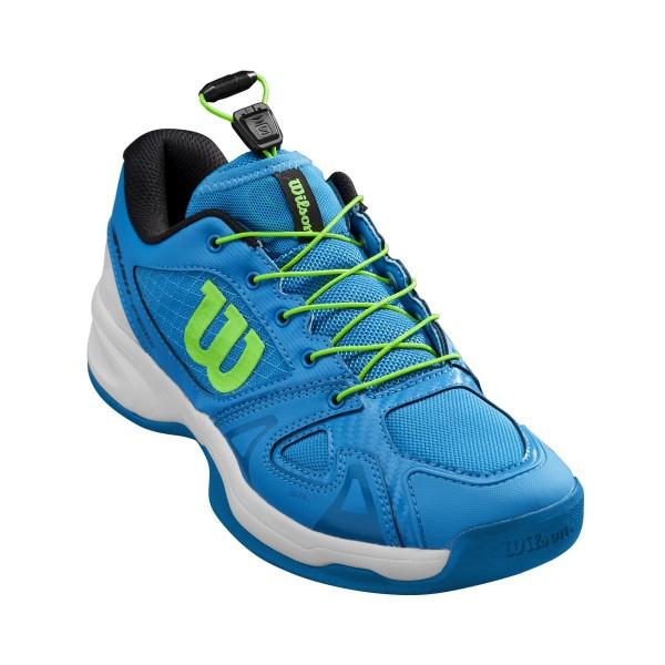 Wilson Rush Pro QL Junior Carpet blau Tennisschuhe