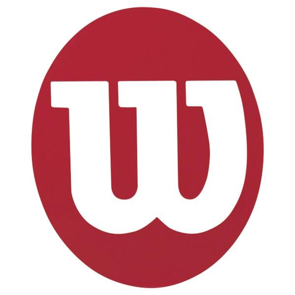 Wilson Schablone rot