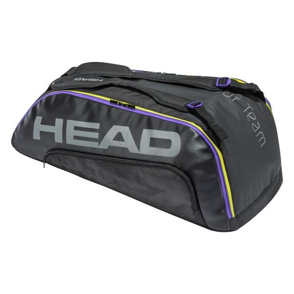 Head Tour Team 9R Supercombi 2021 black Tennistasche