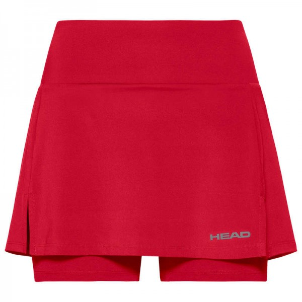 Head Club Skirt Tennisrock rot